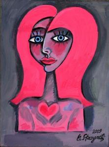 Pink Goddess (Valentine's Day). 2009 © Olena Starynets